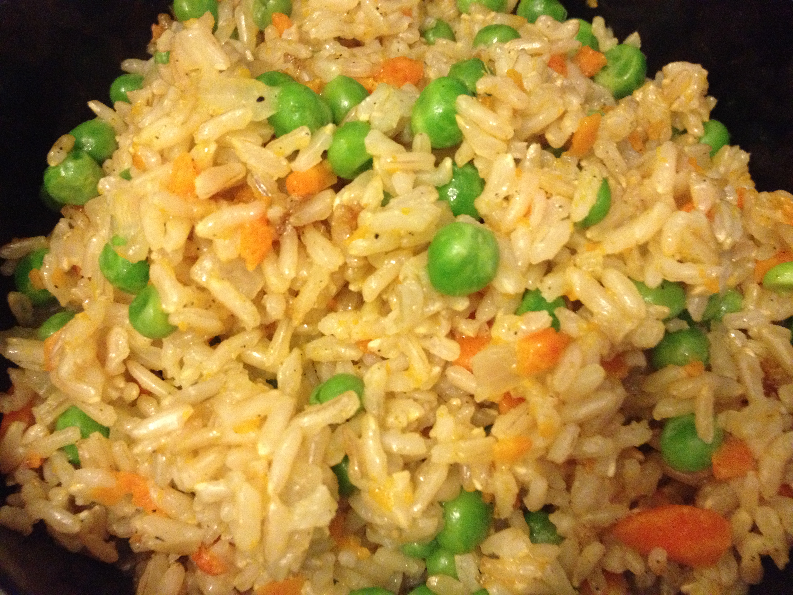 yellow rice the pilaf with a fork caribbean yellow rice yellow rice ...